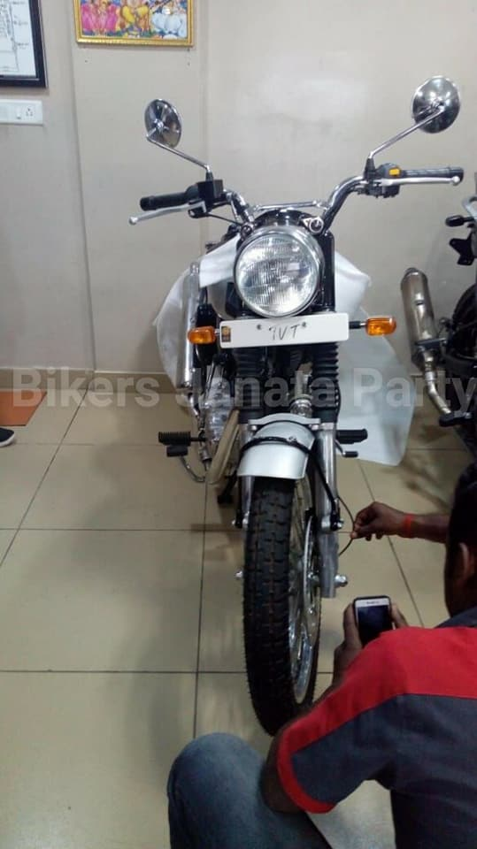 Upcoming Royal Enfield Scrambler leaked images surfaced the Internet | Dug Dug Motorcycles