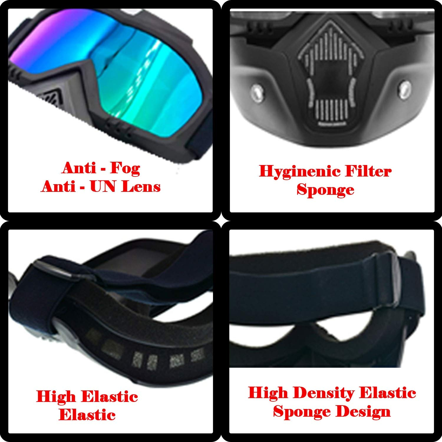 Goggles with mask (1)
