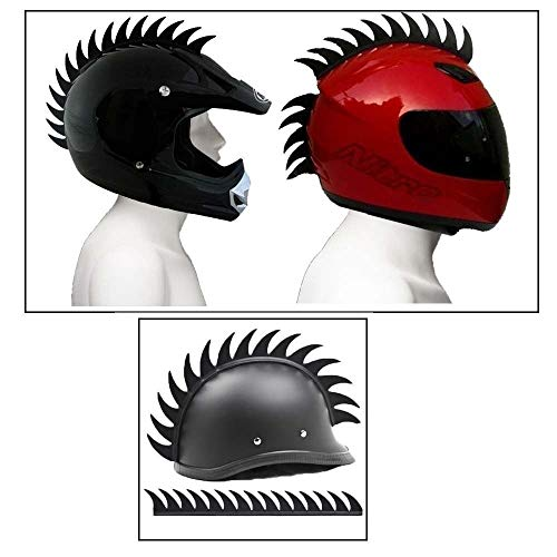 Aow-Attractive-Offer-World-Cuttable-Helmet-Spikes-for-All-Motorcycles-Dirt-Bike-Normal-Helmets-Black-y-63-0-0