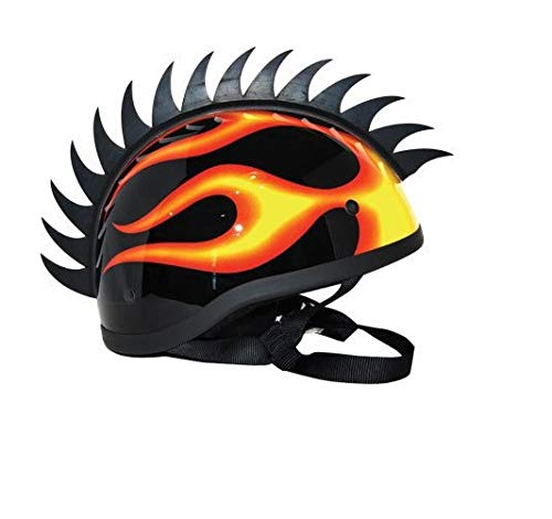 Aow-Attractive-Offer-World-Cuttable-Helmet-Spikes-for-All-Motorcycles-Dirt-Bike-Normal-Helmets-Black-y-63-0-2