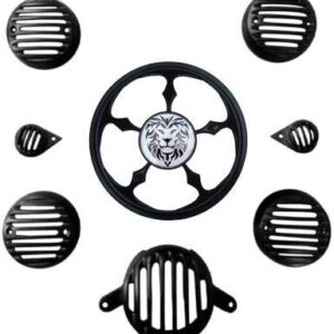 New Royal Enfield Lion Headlight Grill Set for Classic 350,500