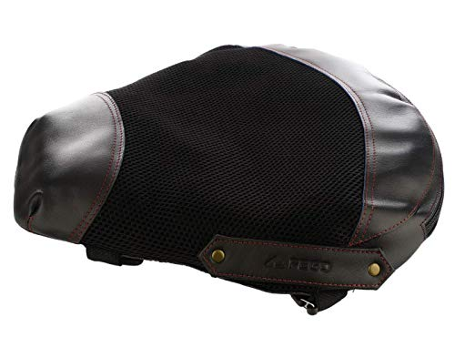 FEGO Float No Back Pain Air Suspension Seat Add-on for Bikes (Black)