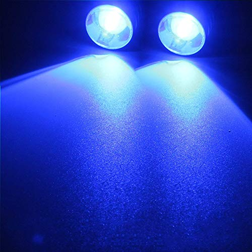 LED Strobe Flashing Lights for All Motorcycles (Blue)