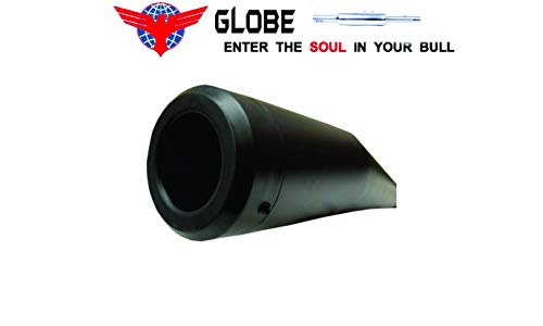 Globe-Auto-Parts-Exhaust-for-Royal-Enfield-Classic-350500-Bs3Bs4-Cobra-Black-0-1