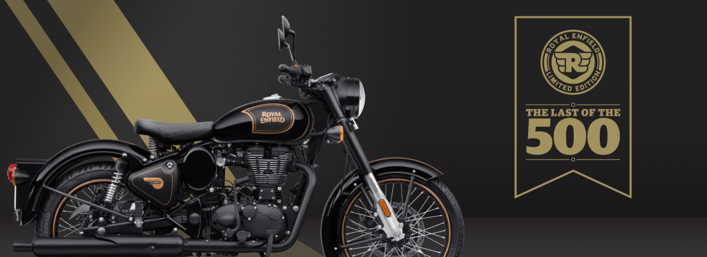 Royal Enfield Classic 500 Tribute Black Limited Edition launched, online sale on February 10