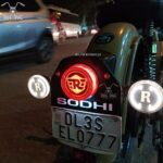 R Logo Tail Light for classic 350/500