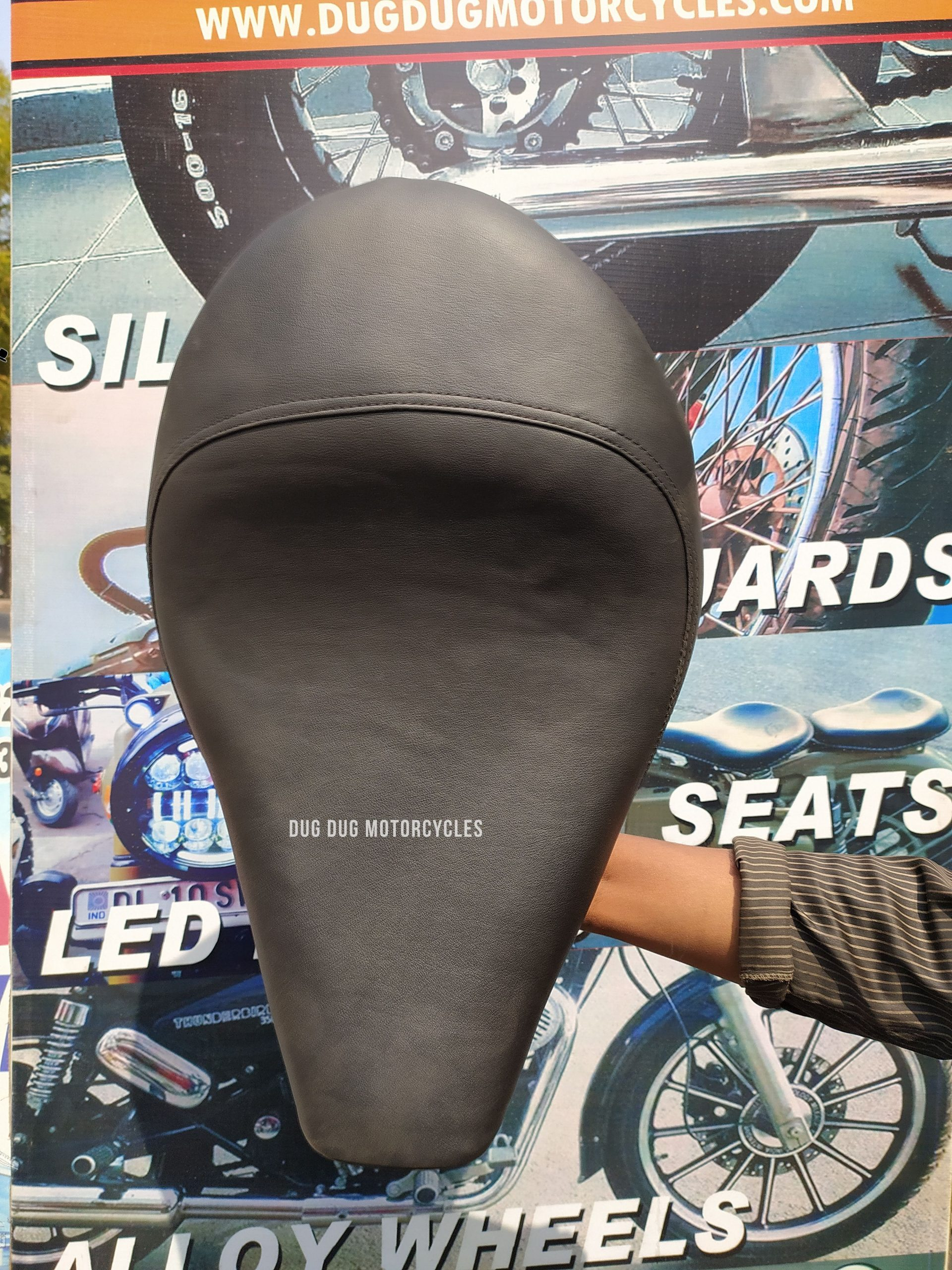 New Harley Single Seat for Royal Enfield Classic 350/500, Standard, Electra