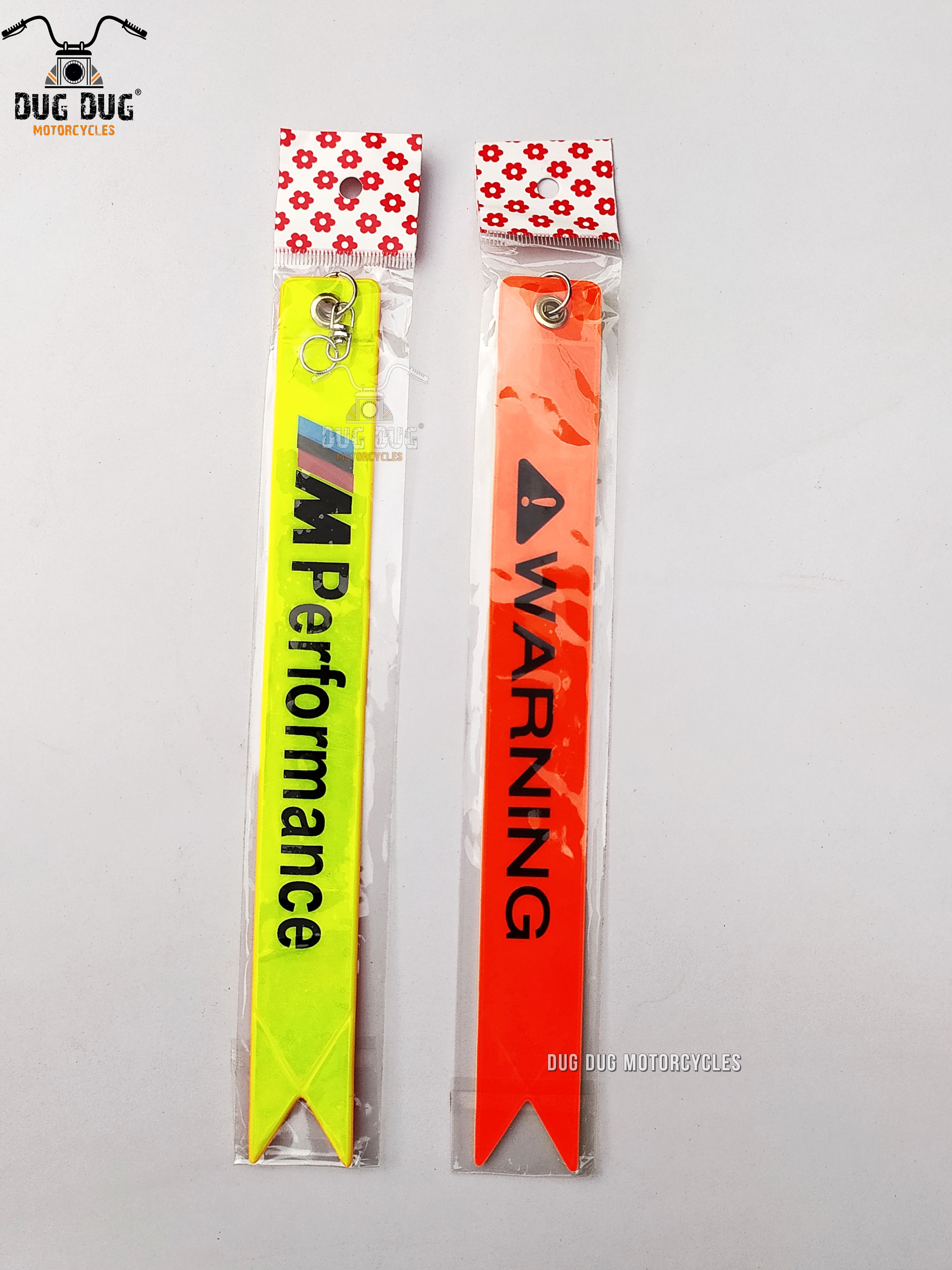 Warning Tag for Cars | Warning Tags for Motorcycles