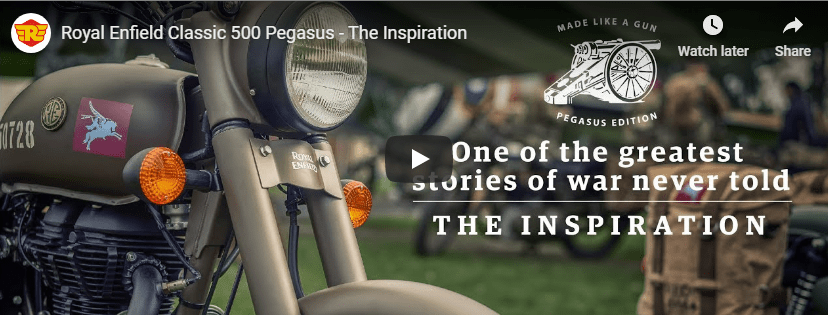 Royal Enfield Classic 500 Pegasus Edition - The Inspiration Video