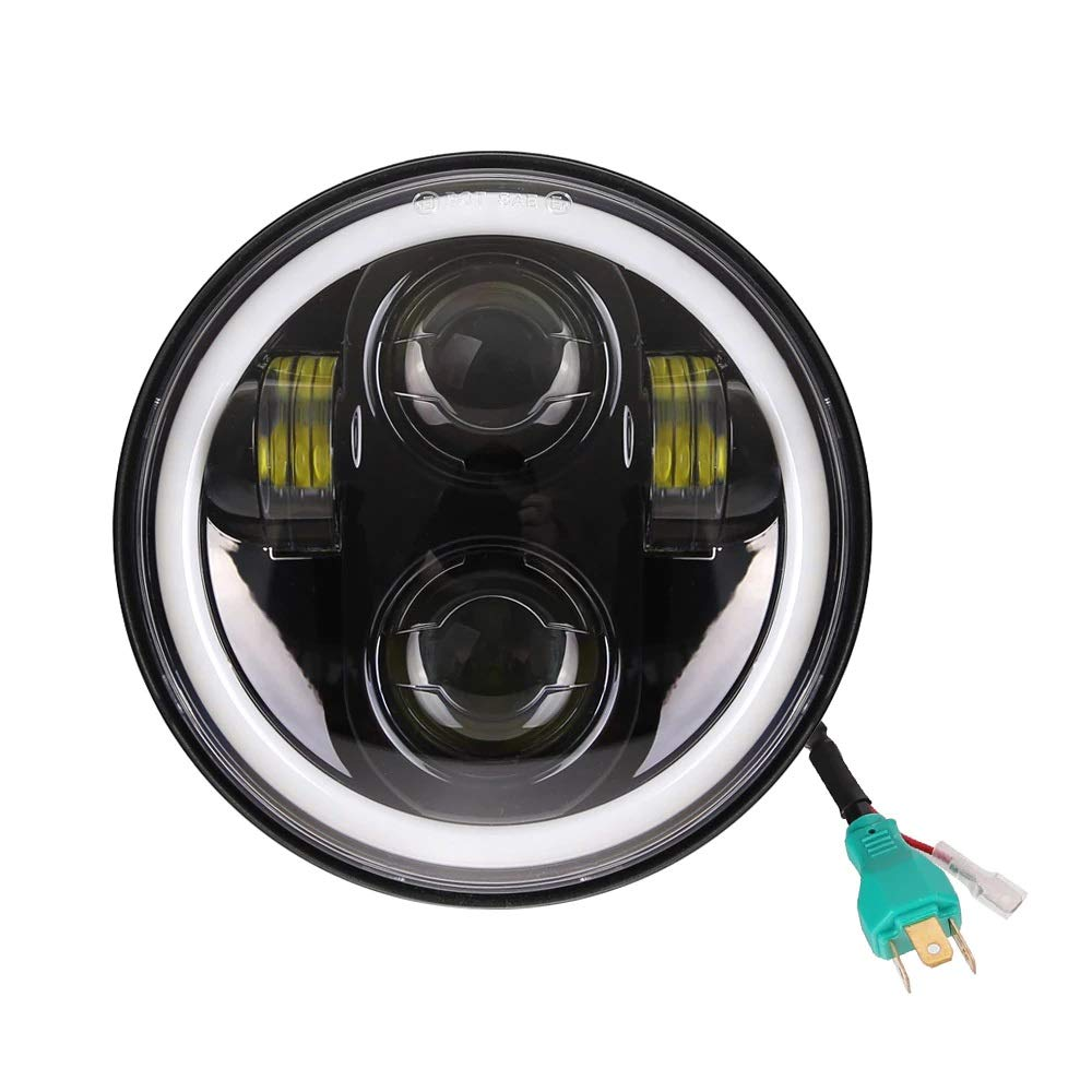 5.75 Led Headlight Bajaj Avenger (2)