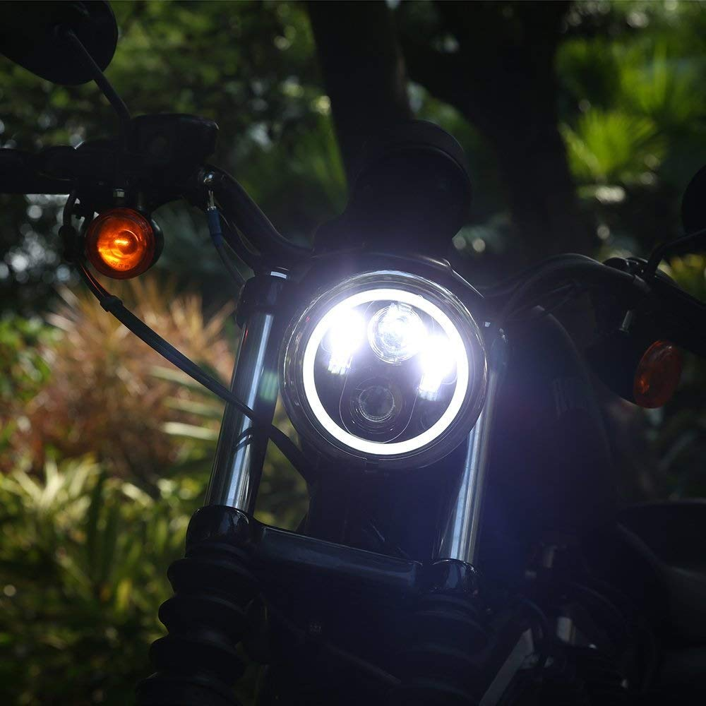 5.75 Led Headlight Bajaj Avenger (3)