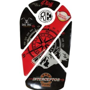 Interceptor 650 Tank Pad