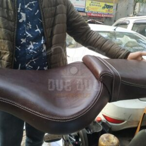New Comfortable Long Ride Seat for Royal Enfield