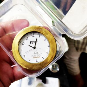 Royal Enfield Brass Watch (1)