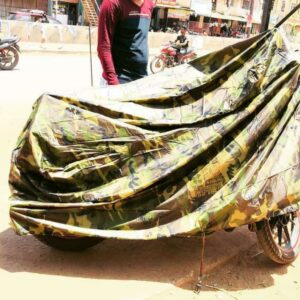 camouflage bike body cover for royal enfied all models-1