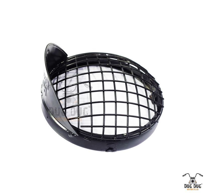 royal enfield headlight grill with shade (1)