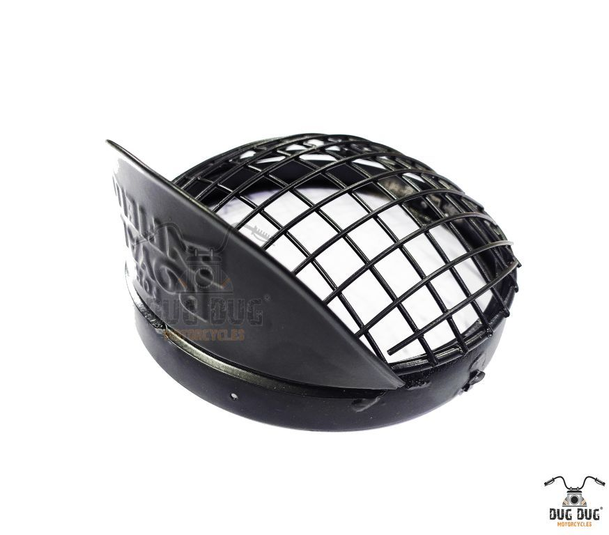 royal enfield headlight grill with shade (3)