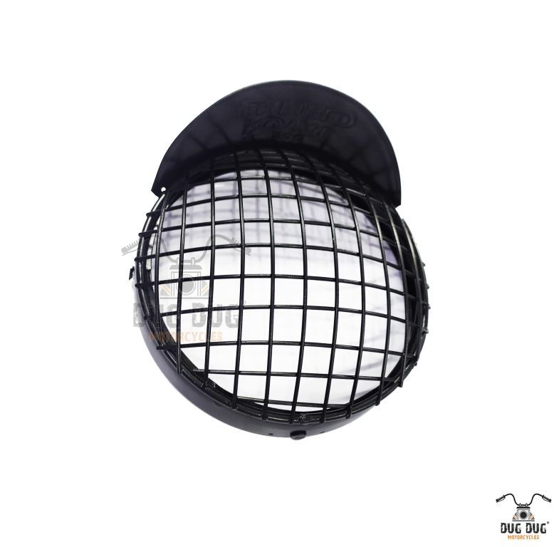 royal enfield headlight grill with shade (4)