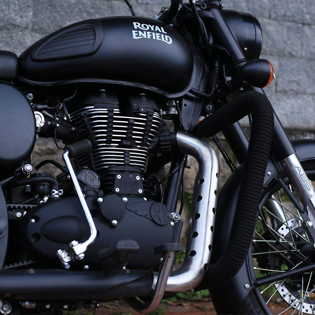 Heat Shield for Royal Enfield SS304 (1)