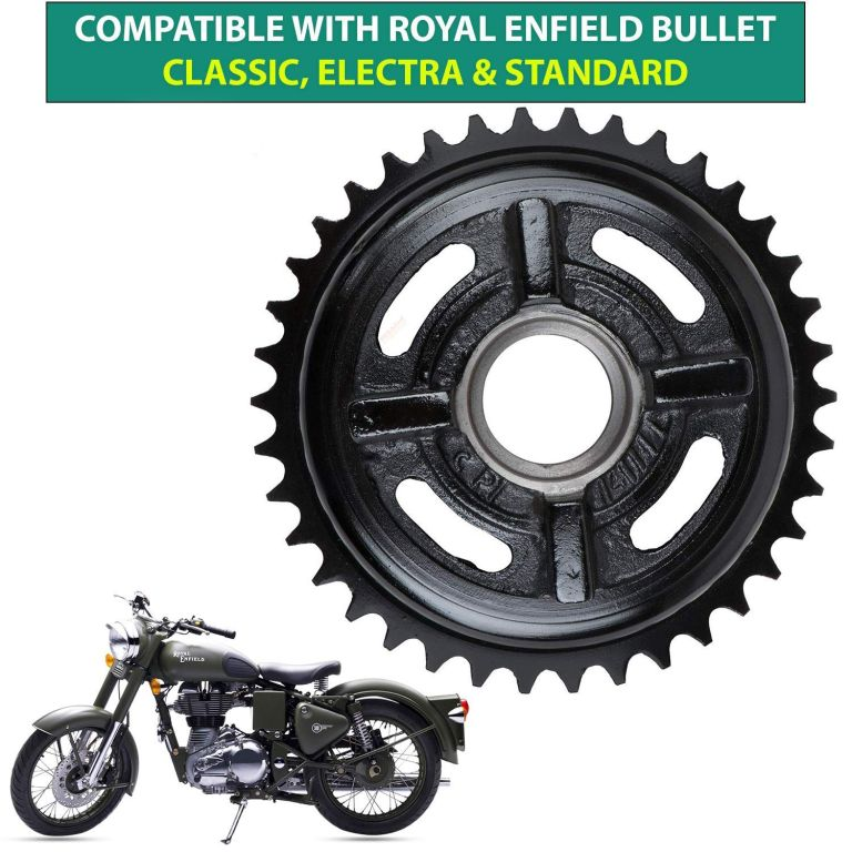 Dug Dug Rear Chain Sprocket for Royal Enfield Classic Electra and Standard 350cc and 500cc Motorcycles (6)
