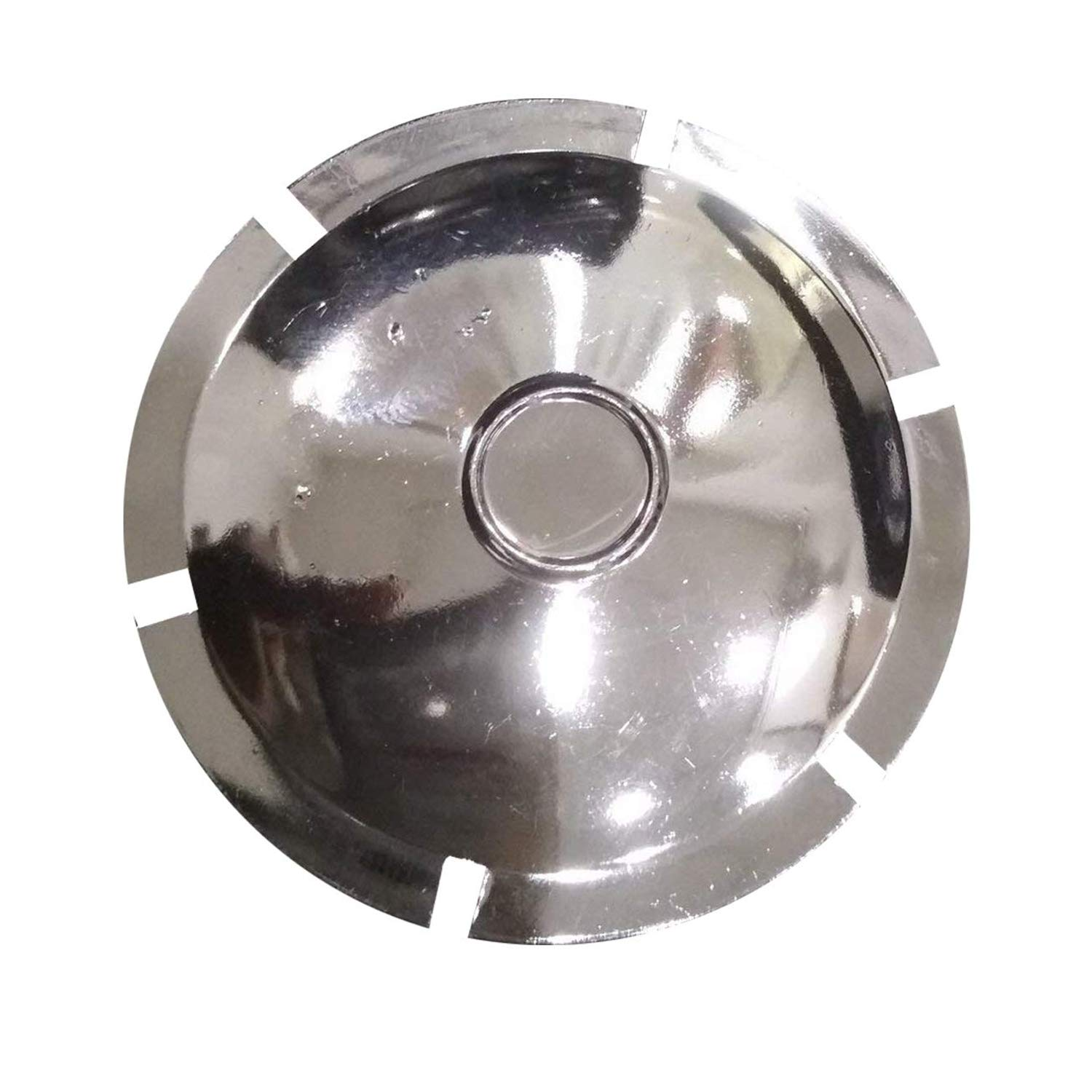 Dug Dug Rear Suspension Plastic Chrome Axle Cap for Royal Enfield Bullet Classic 350 Electra and Standard (2)