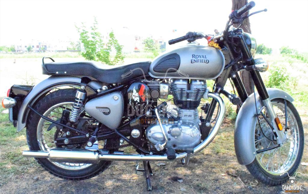 Royal Enfield BS6 Bend Pipe
