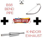 Bend Pipe Exhaust Combo