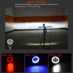 dug dug motorcycles 3 Inch 40W LED Fog Light with LED Round DRL Angel Eye for bikes (35)