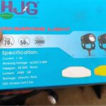 HJG Mini Driving Fog Lights 20w for all bikes (1)