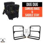 dug dug royal enfield canvas bag for classic standard electra thunderbird (1)