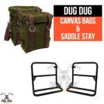 dug dug royal enfield canvas bag for classic standard electra thunderbird (4)