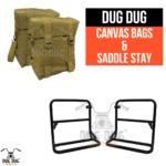 dug dug royal enfield canvas bag for classic standard electra thunderbird (5)